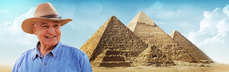 ROYAL EGYPT TOUR (14 days) - With dr. Zahi Hawass - THE LEGENDARY ARCHAEOLOGIST