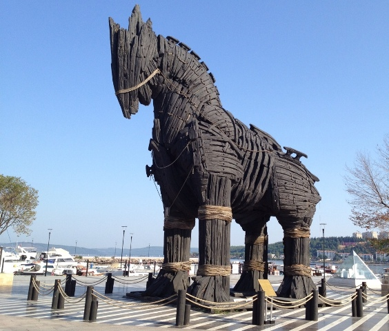 Troy horse